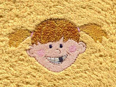 Zahnlücke Mädchen Gelb