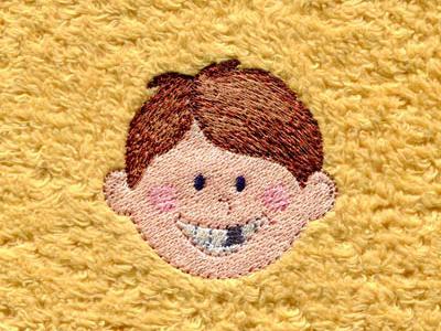 Zahnlücke Junge